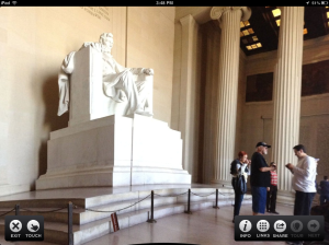 Take your students on a virtual field trip to the Lincoln Memorial.
